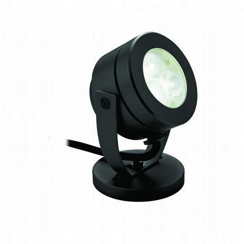 Firstlight 8241BK Black Waterproof LED Wall & Spike Spot